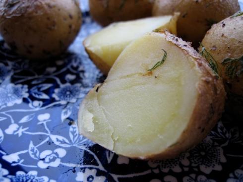 dill fingerling potatoes