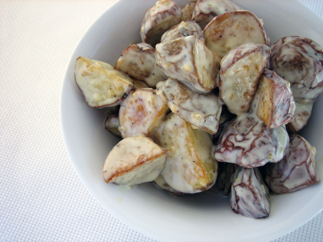 ... summer favorites: Spanish roasted potato salad - Splash of Something