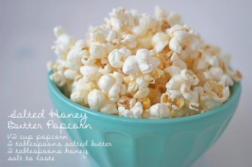 Social media image of Salted Honey Butter Popcorn