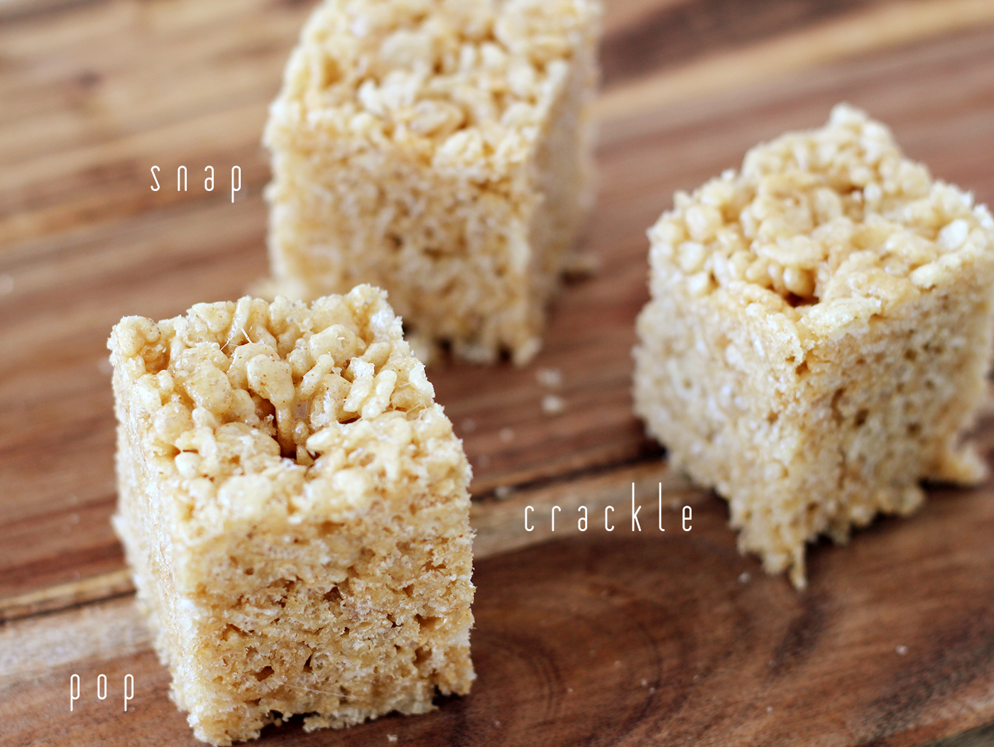 Caramelized Brown Butter Rice Krispies Treats
