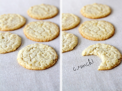 Lemon Cream Cheese Cookies both