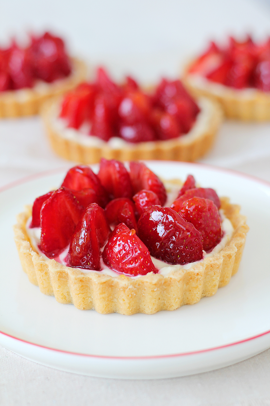 Strawberry tarts forever - Splash of Something