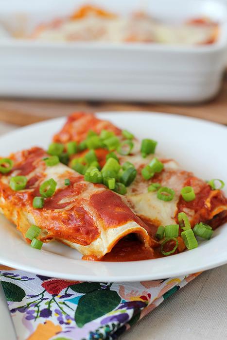 Vegetarian Enchiladas5