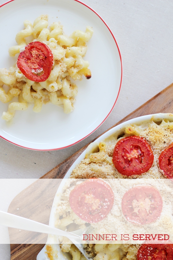 Tomato Mac & Cheese2