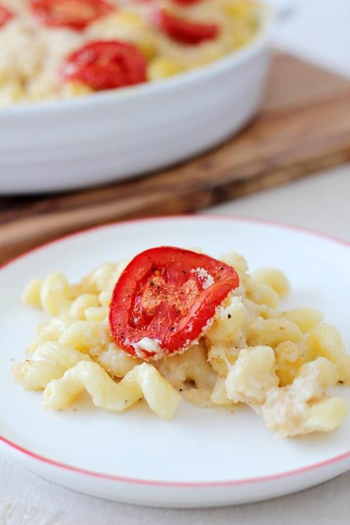 Tomato Mac & Cheese3
