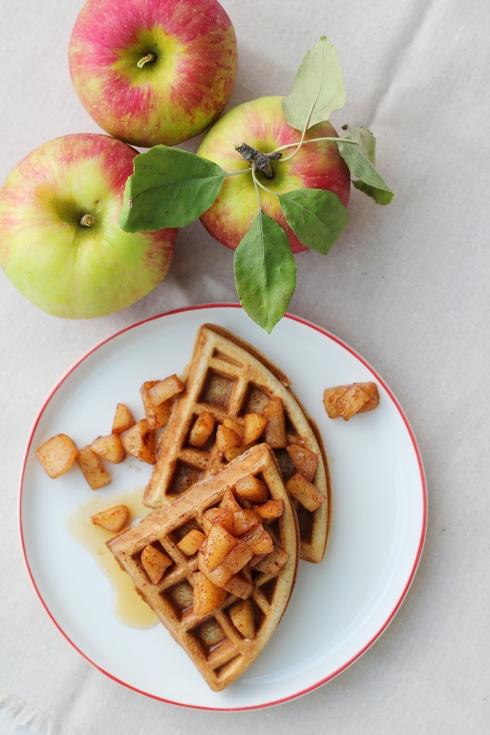 Apple Waffles 3