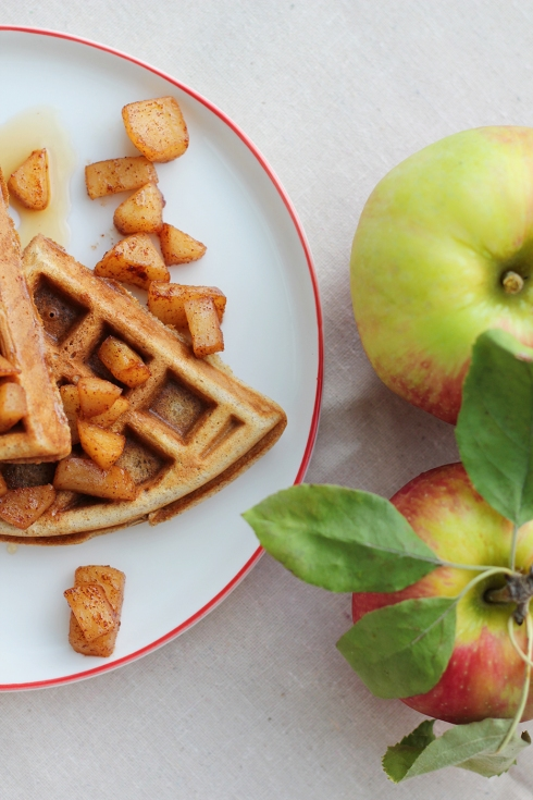Apple Waffles 4
