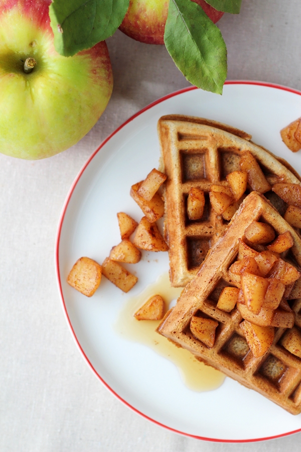 Apple Waffles 5