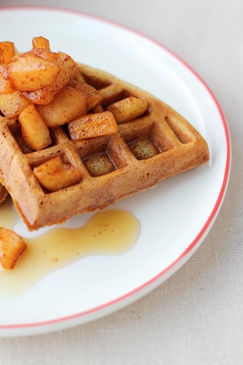 Apple Waffles 6