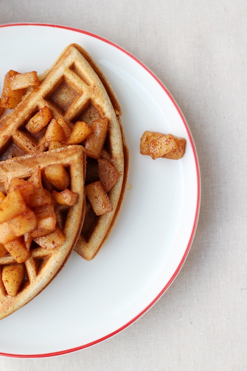 Apple Waffles 7