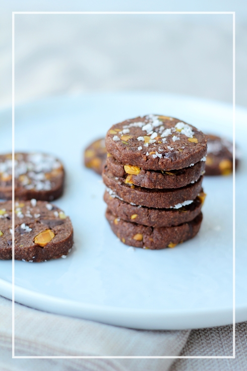 Chocolate Pistachio Sables6