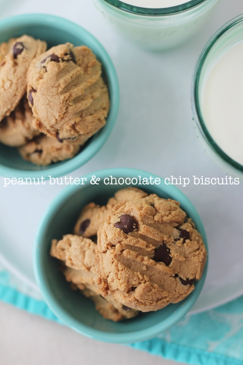 Peanut Butter Chocolate Chip Biscuits3