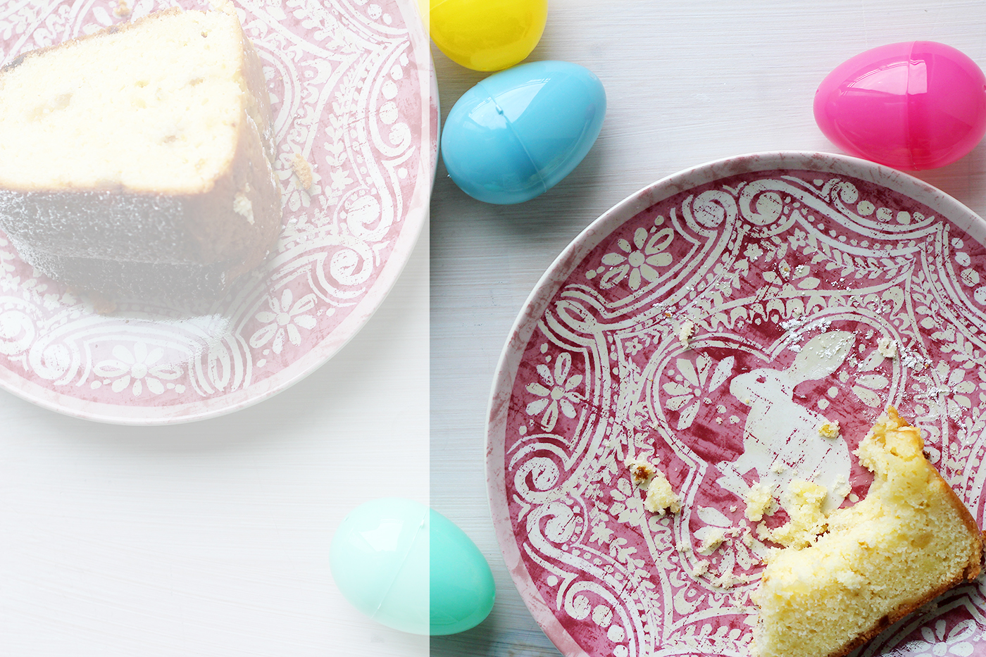 Happy Easter! Lemon Ginger Bundt Cake - Splash of Something