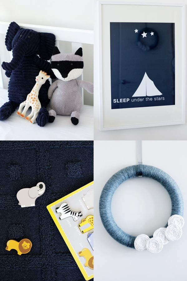9 Navy Decor