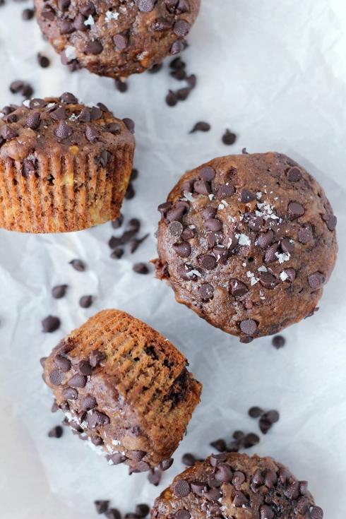 Banana Chocolate Muffins