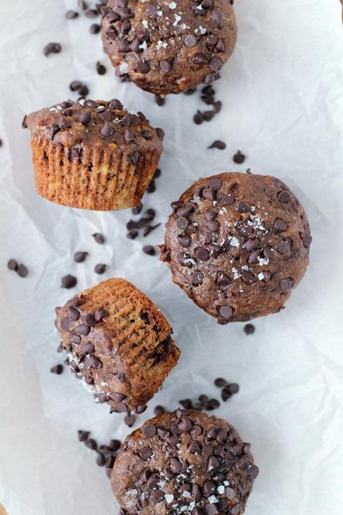 Banana Chocolate Muffins2