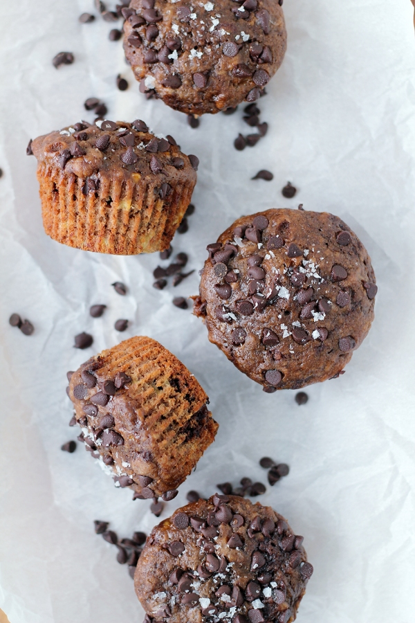 Banana Chocolate Muffins2
