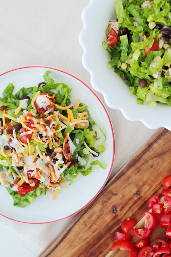 Chopped Chicken Salad 3-4