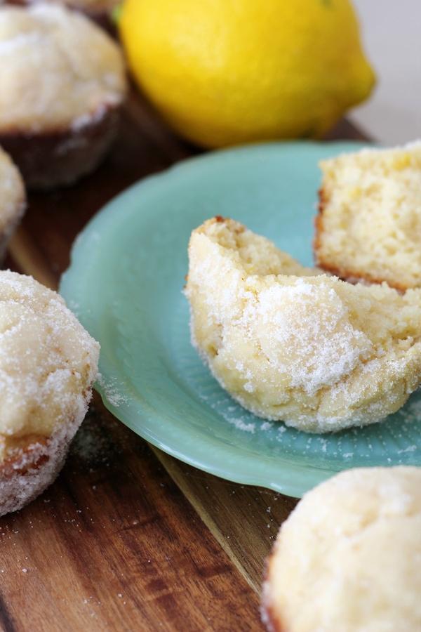Lemon Donut Muffins3