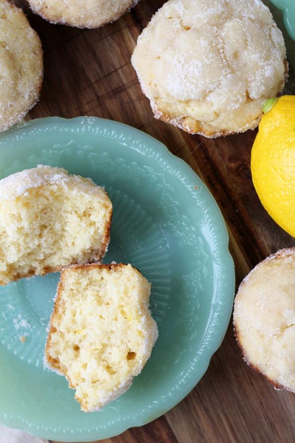 Lemon Donut Muffins6