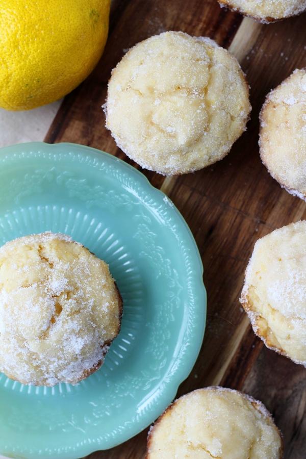Lemon Donut Muffins9