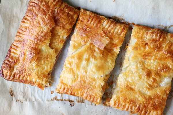 Ham and Gruyere Puff Pastry 3