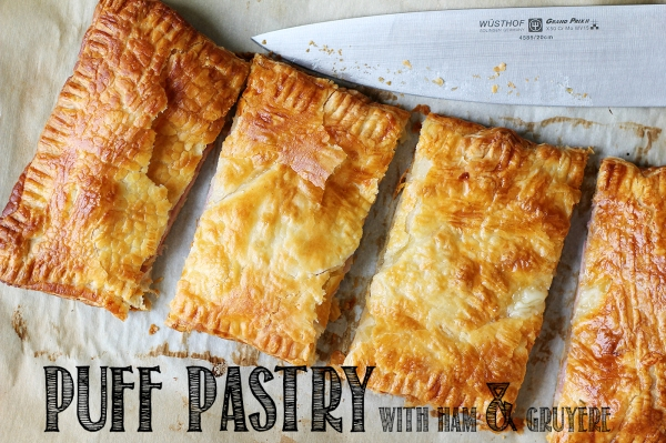 Ham and Gruyere Puff Pastry 6